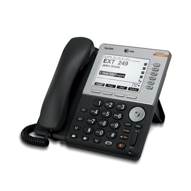 AT&T SB35031 Syn248 Corded Deskset Phone System with DECT