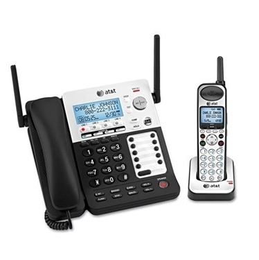 AT&T SB67138 SynJ corded/ cordless system