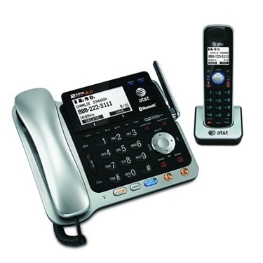 Picture of AT&T DECT 6.0 2-Line Expandable Corded/Cordless Phone