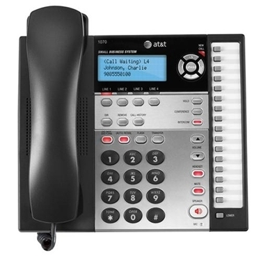 AT&T 1070 4-Line Expandable Corded Phone System