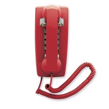 Cetis SCI-25403 2554E Single Line Emergency Phone Red