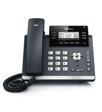 YEA-SFB-T42G IP Phone Dual Gigabit, Skype for Business by Yealink