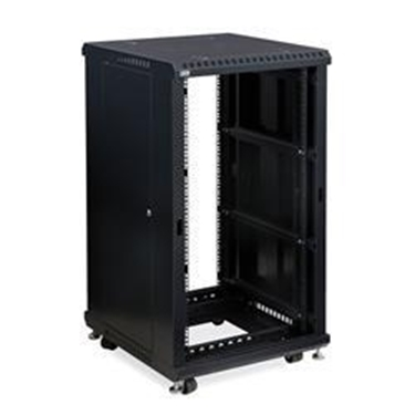 "Kendall Howard 3180-3-024-22 22U LINIER Open Frame Server Rack - No Doors - 24"" Depth"