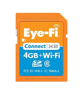 Eye-Fi 4-GB Wireless Flash Memory Card