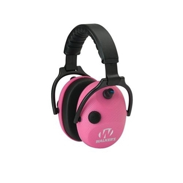 Walkers WGE-GWP-AMPKCARB Alpha Power Muffs, Elec Pink Carbon-SSL