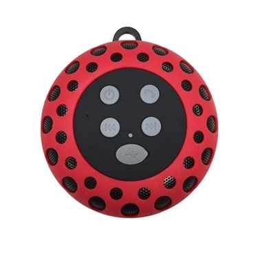 Cobra Digital CBD-BT2000RED Bluetooth speaker with clip RED