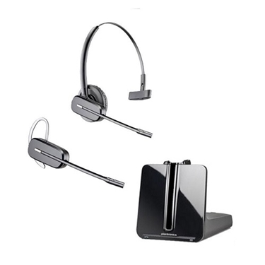 Plantronics Wireless Headset System-Black