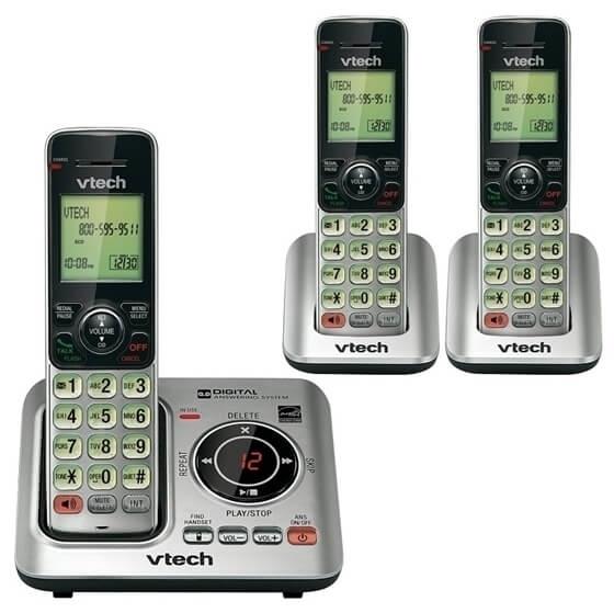 Vtech VT-CS6629-3 3-handset cordless CID/ITAD