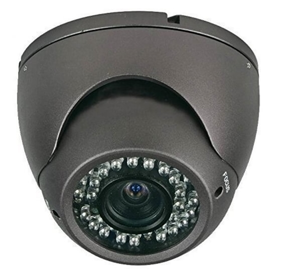 Nexhi™ NXS-412DV6B-CAM Camean 420TVL 1/3 SONY HAD CCD Color Vandal Dome Camera