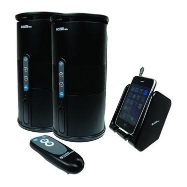 refurbished-audio-unlimited-900mhz-wireless-indooroutdoor-2-speaker-system-remote-and-transmitter-in