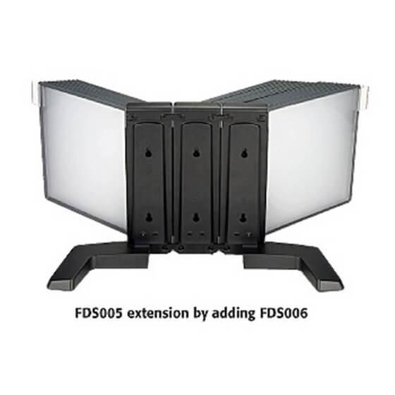 Aidata FDS006L Flip & FInd 10-Pocket Wall Mount Reference Organizer