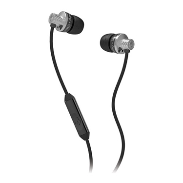 Skullcandy Titan Wired Earphone With Mic - Chrome / Black