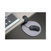 AiData ErgoGuys Swivel Ergonomic Under Desk Mouse Platform-Black