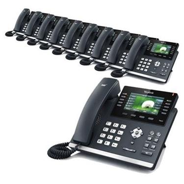 Yealink SIP-T46G 10 Pack Ultra-Elegant Gigabit IP Phone