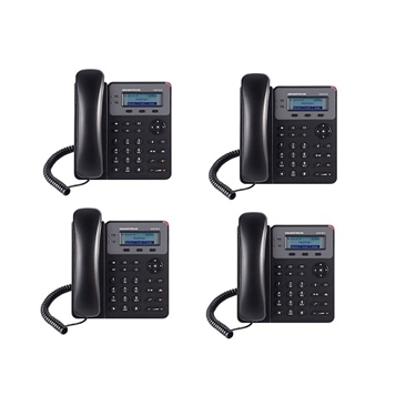 Grandstream GXP1610 Bundle Of 4-Packs SOHO 1-SIP IP Phone