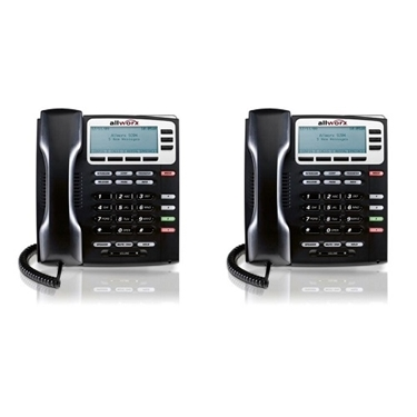 Bundle Of 2 Allworx 9204 VoIP Phone With 4 Programmable Buttons