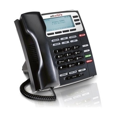 Bundle of 5-packs Allworx 9204G VoIP Phone with 4-programmable Buttons