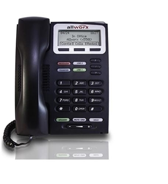 Bundle of 2 Allworx ALL-9202E IP Phone with Duplex Speakerphone