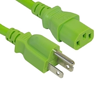 Power Cord Nema 5-15P-IEC320 C13