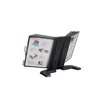 Aidata FDS005L-20 Flip & Find Basic Display 20 Pockets Black