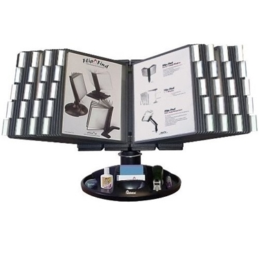 Aidata FDS021L-40 Executive Rotary Base Reference Organizer