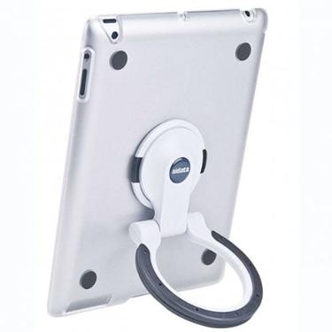 Aidata ISP502CWB iPad Stand Finish Clear/white
