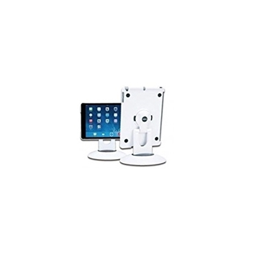 Aidata ISP103WB iPad Air Spin Station Mount Finish White