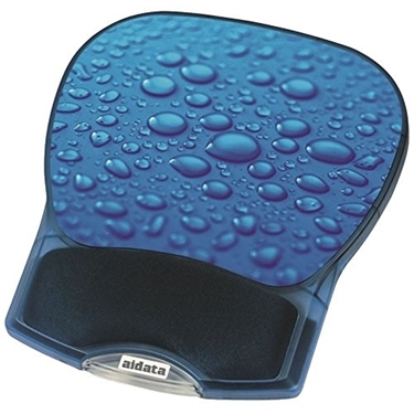 Aidata GL012D Deluxe Gel Mouse Pad Blue