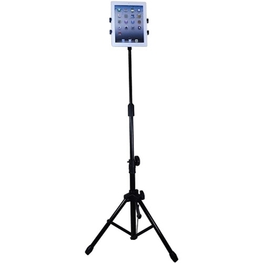Aidata US-2009B iPad Floor Stand with Tripod Base
