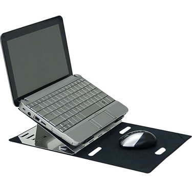 aidata aluminum portable mini laptop stand