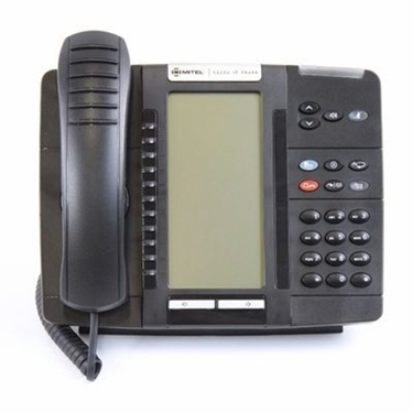 Refurbished-Mitel 50006634 5320E Backlit IP Phone (Black)