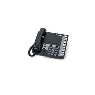 Intertel Eclipse2 560.4100 12-Button Speaker Phone (Charcoal/Refurbished)