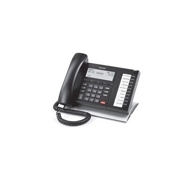 Refurbished-Toshiba DP5022-SDM-R 10 Button LCD Telephone Black