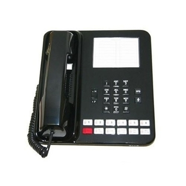 Refurbished-Vodavi Starplus Analog SP-61610-00 Basic Phone Black