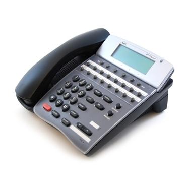 Refurbished- NECDTR16D1-BLK-REF Display Phone Black