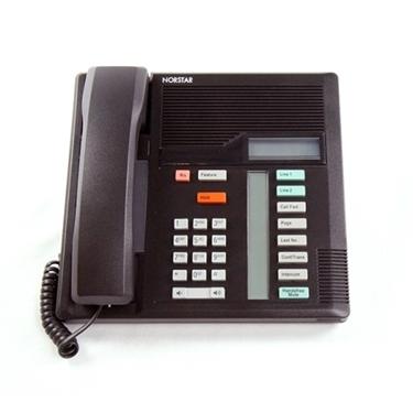 Refurbished- Nortel M7208 Telephone NT8B30 Black