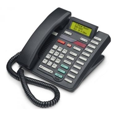 Refurbished- Nortel M9417CW 2-Line Display Phone Black