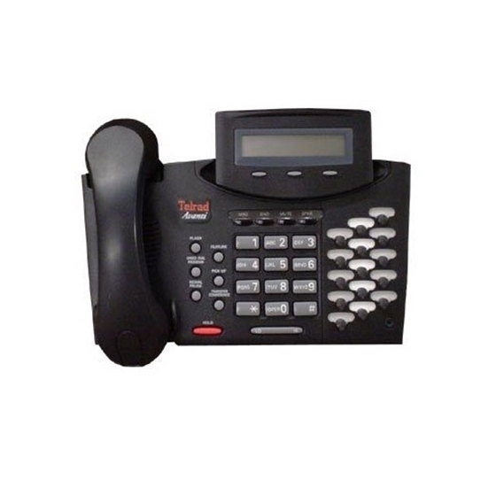 Tadiran Coral Flexset 120D 12-button Display Speaker Phone Handsets