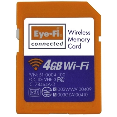 Eye-Fi Connect X2 4 GB Class 6 SDHC SD Flash Memory Card-Works Only As SD Card
