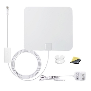 Antop Antenna AT-100B Paper thin Amplified TV Antenna