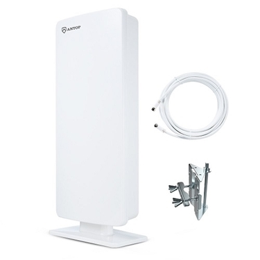 Antop Flat-Panel Outdoor/Indoor HD TV Antenna