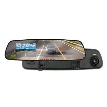Armor All ADC2-1004-BLK Rear View Mirror Dash Cam Black