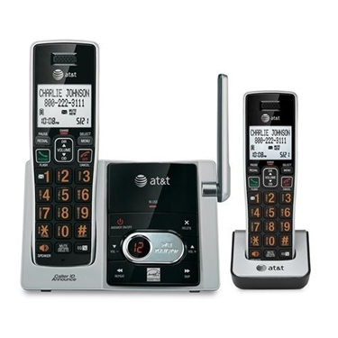 AT&T CL82213 2 Handset Answering System With CID
