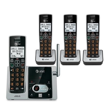 AT&T CL82413 4 Handset Answering System CID