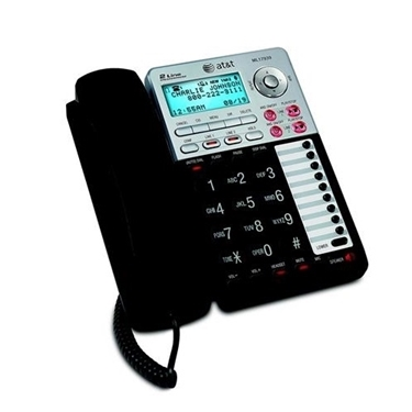 AT&T ML17939 2-line Corded Phone with ITAD/CID