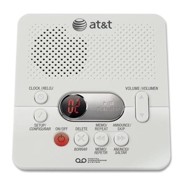 AT&T 1740 Digital Answering System with Time and Day Stamp