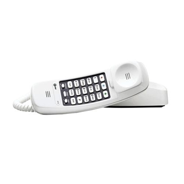 AT&T 210-WH Trimline Corded Phone with Speed Dial