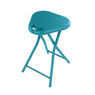 Folding Stool With Handle Moonlight Blue
