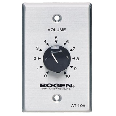 Bogen BG-AT10A 10 Watt Attenuator Single Gang