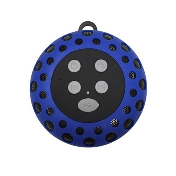 Cobra Digital Cbd Bt2000blue Bluetooth Speaker With Clip